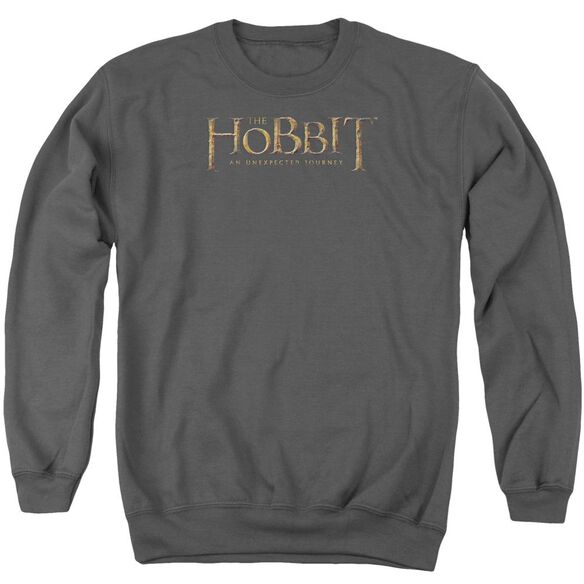 The Hobbit Distressed Logo Adult Crewneck Sweatshirt