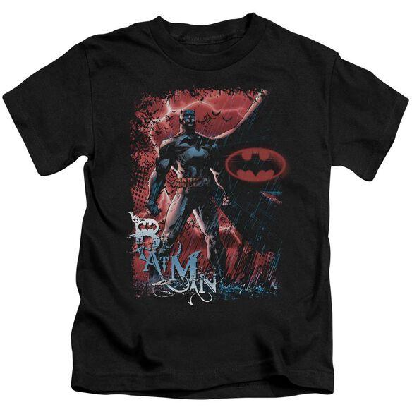 BATMAN GOTHAM REIGN - S/S JUVENILE 18/1 - BLACK - T-Shirt
