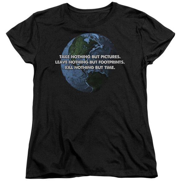 Take Nothing Short Sleeve Womens Tee T-Shirt