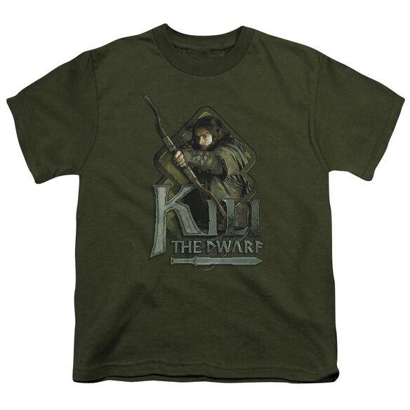 The Hobbit Kili Short Sleeve Youth Military T-Shirt