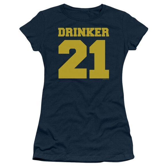 Drinker 21 Short Sleeve Junior Sheer T-Shirt