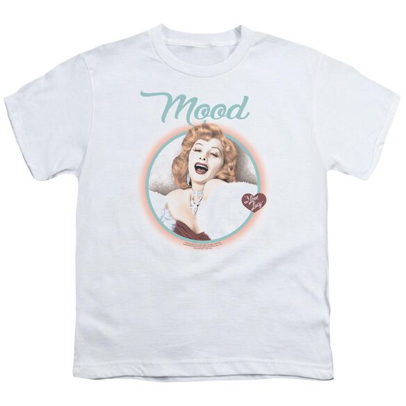 I Love Lucy Mood Short Sleeve Youth T-Shirt