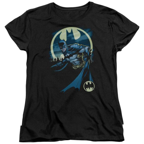 Batman Heed The Call Short Sleeve Womens Tee T-Shirt
