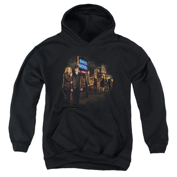 Bates Motel Cast Youth Pull Over Hoodie