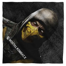Mortal Kombat X Scorpion Bandana White