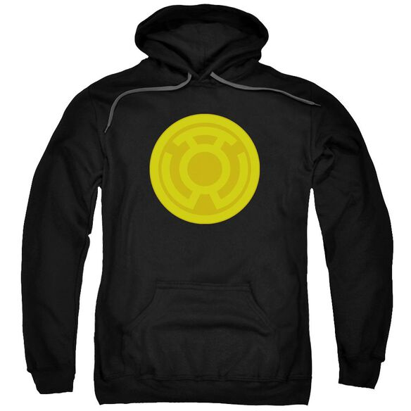 Green Lantern Yellow Symbol Adult Pull Over Hoodie
