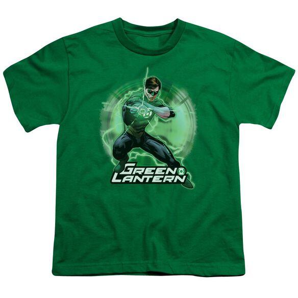 Jla Spin Short Sleeve Youth Kelly T-Shirt