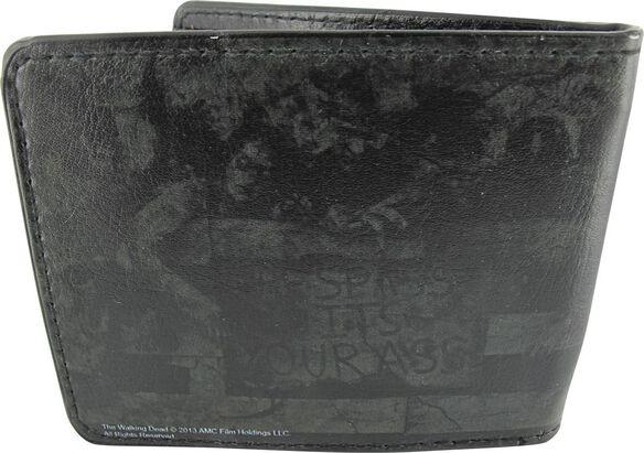 Walking Dead Zombie Girl Fence Wallet