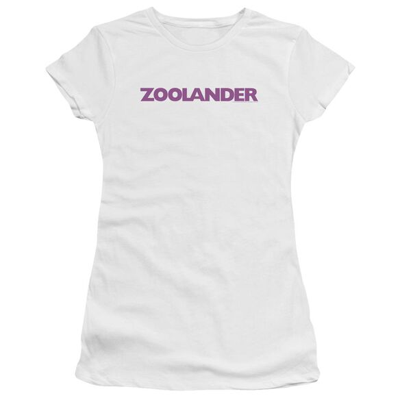 Zoolander Logo Premium Bella Junior Sheer Jersey