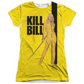Kill Bill Poster Short Sleeve Junior Poly Crew T-Shirt