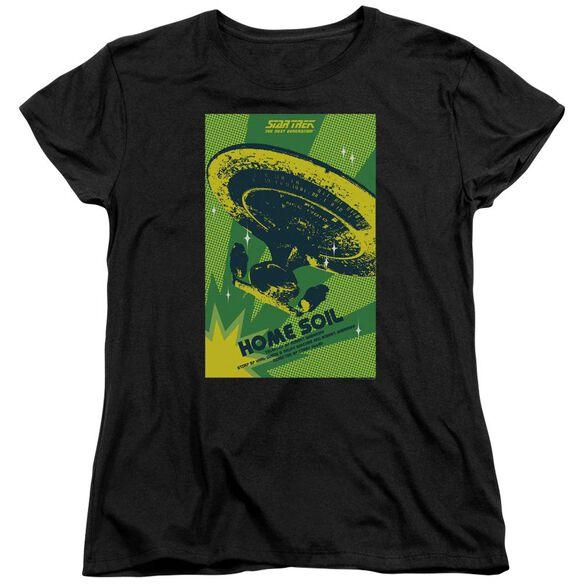 Star Trek Tng Season 1 Episode 18 Short Sleeve Womens Tee T-Shirt