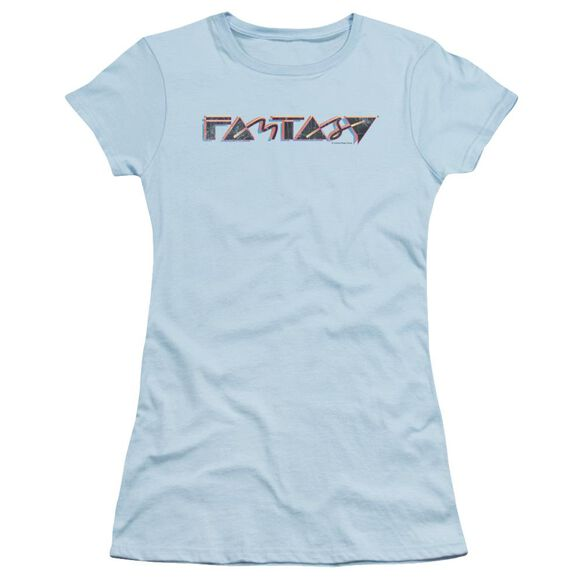 Fantasy Fantasy 80 S Short Sleeve Junior Sheer Light T-Shirt