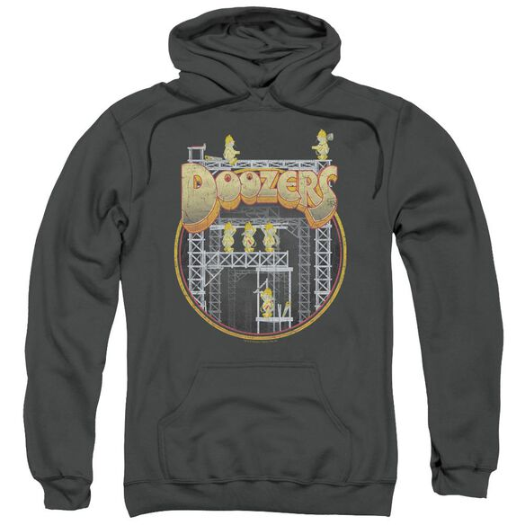 Fraggle Rock Doozers Construction Adult Pull Over Hoodie