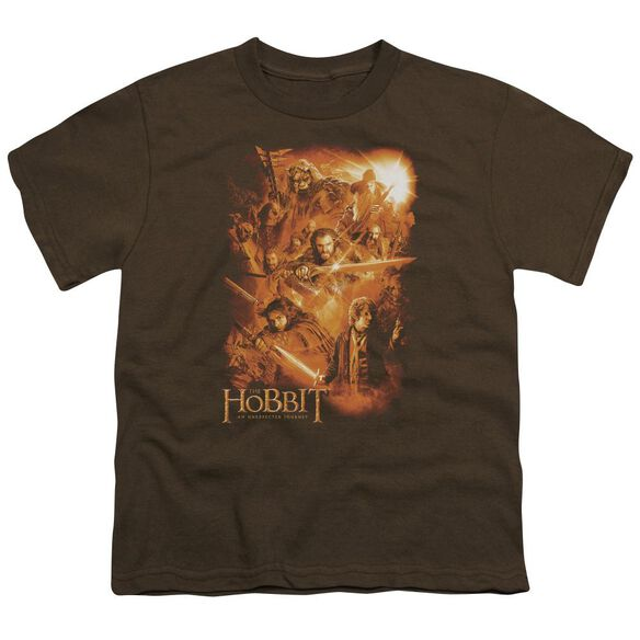 The Hobbit Epic Adventure Short Sleeve Youth T-Shirt