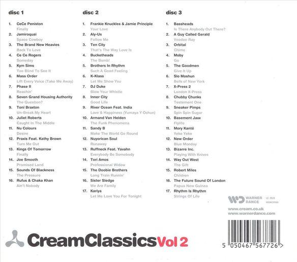 Cream Classics V2 1104