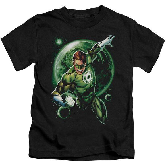 Green Lantern Galaxy Glow Short Sleeve Juvenile T-Shirt