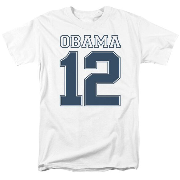 Obama 12 Short Sleeve Adult T-Shirt