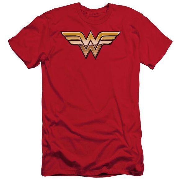Jla Golden Short Sleeve Adult T-Shirt