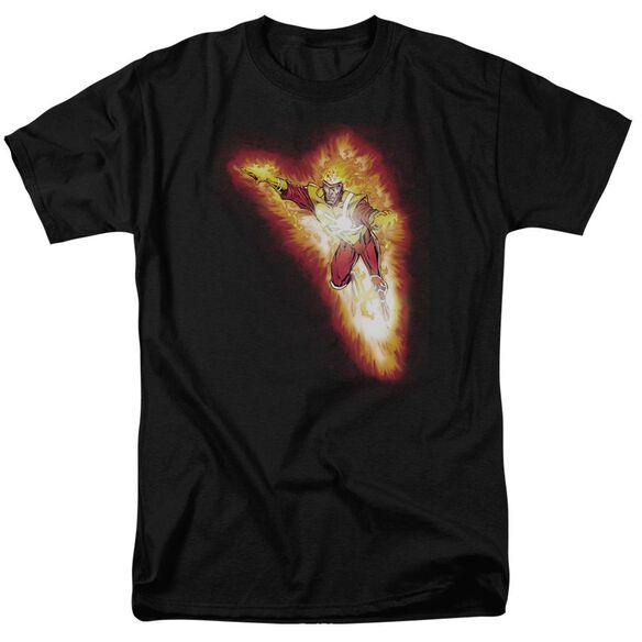 Jla Firestorm Blaze Short Sleeve Adult T-Shirt