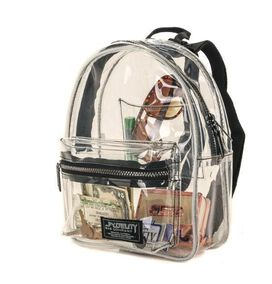 Crystal Clear Mini Backpack