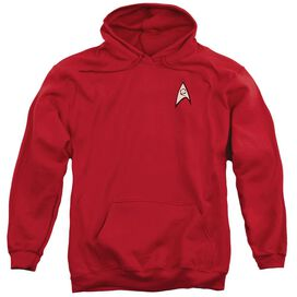 Star Trek Engineering Uniform Adult Pull Over Hoodie