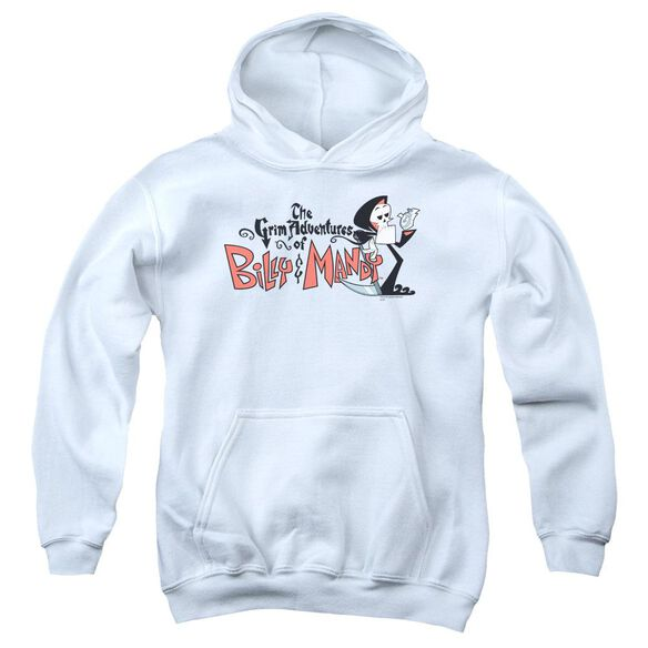 Billy & Mandy Logo Youth Pull Over Hoodie