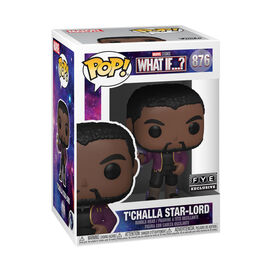Funko Pop! Marvel: What If - T'Challa Starlord