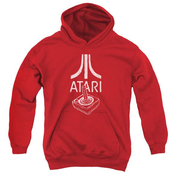 Atari Joystick Logo Youth Pull Over Hoodie