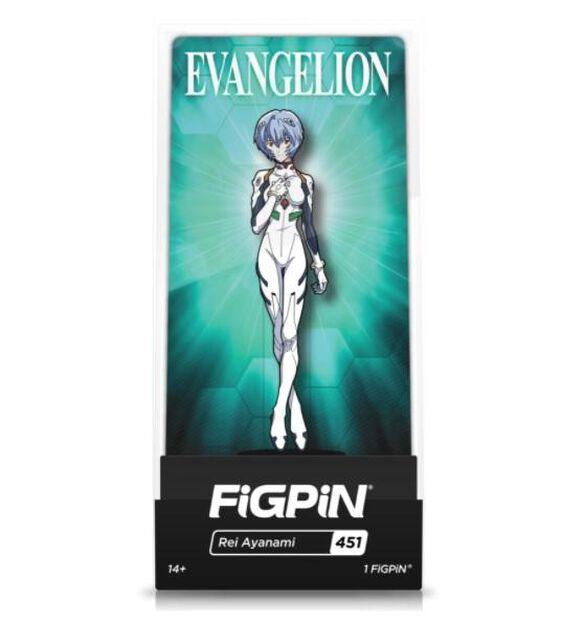 Neon Geneisis - Rei Ayanami FiGPiN