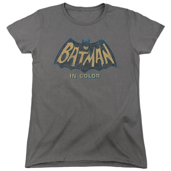 Batman Classic Tv In Color Short Sleeve Womens Tee T-Shirt