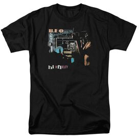 Reo Speedwagon Hi Infidelity Short Sleeve Adult Black T-Shirt