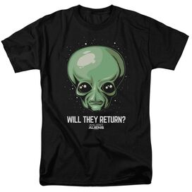 Ancient Aliens Will They Return Short Sleeve Adult T-Shirt