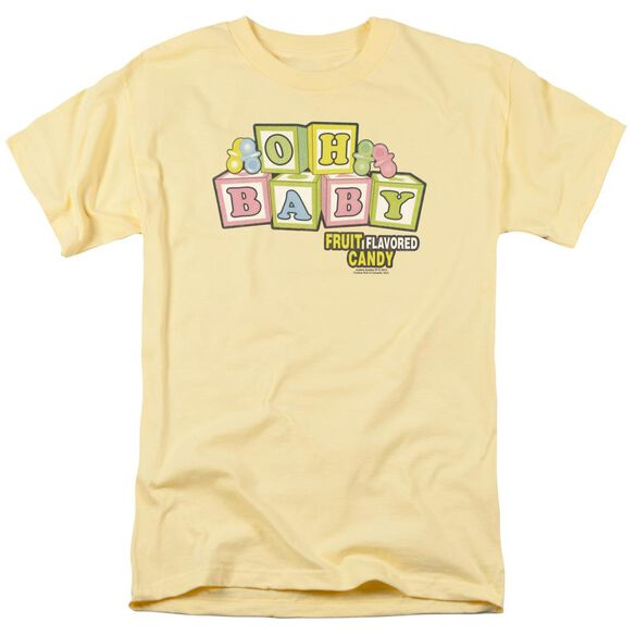 Dubble Bubble Oh Baby Short Sleeve Adult Banana T-Shirt