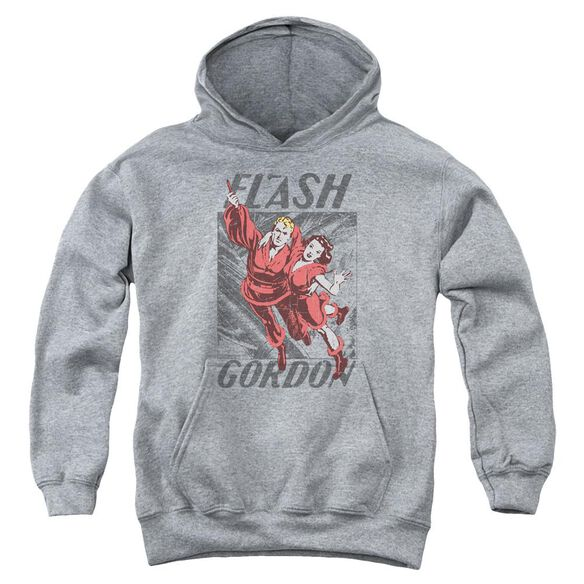 Flash Gordon To The Rescue Youth Pull Over Hoodie Athletic