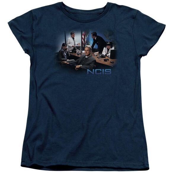 Ncis Original Cast Short Sleeve Womens Tee T-Shirt