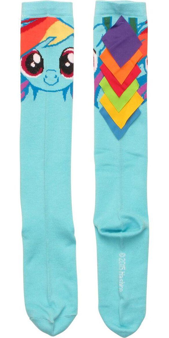 6a93301cd41 Images. My Little Pony Rainbow Dash Hair Knee High Socks
