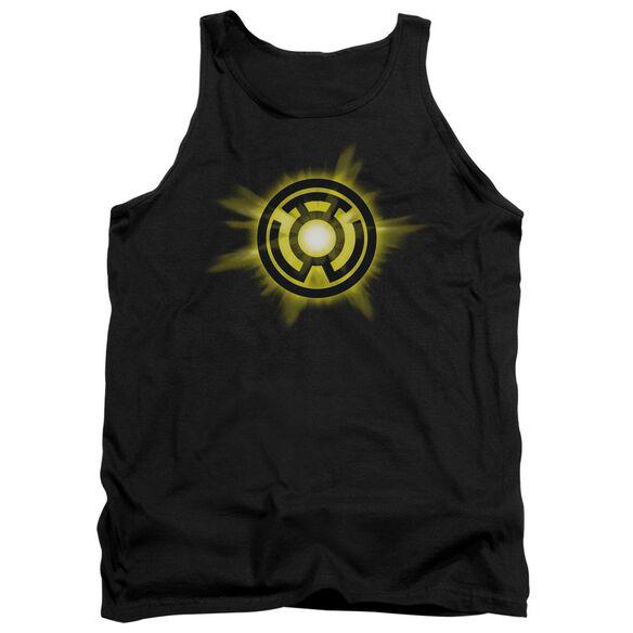 Green Lantern Yellow Glow Adult Tank