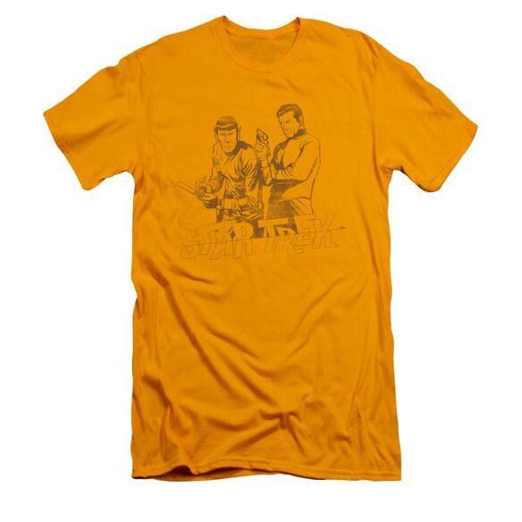 Star Trek Brains & Guts Short Sleeve Adult T-Shirt