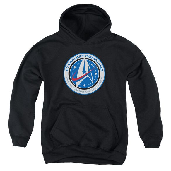 Star Trek Discovery Starfleet Command Youth Pull Over Hoodie