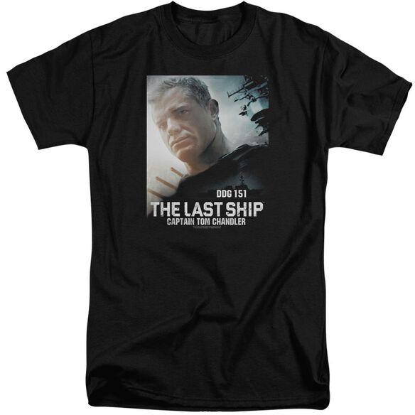 Last Ship Captain Short Sleeve Adult Tall T-Shirt