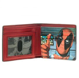 Deadpool Face Thumbs Up Bifold Wallet
