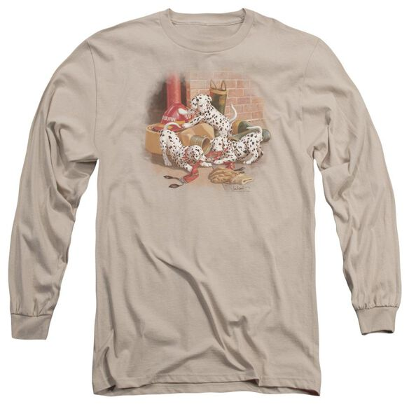 Wildlife Wheres The Fire? Long Sleeve Adult T-Shirt