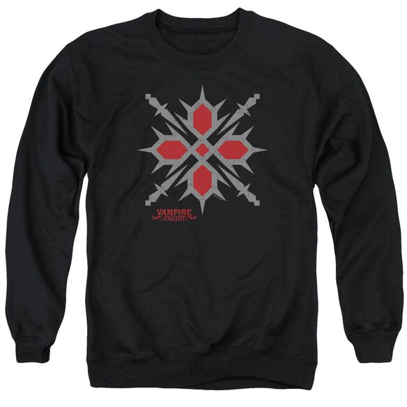 Vampire Knight Hunter Symbol Adult Crewneck Sweatshirt