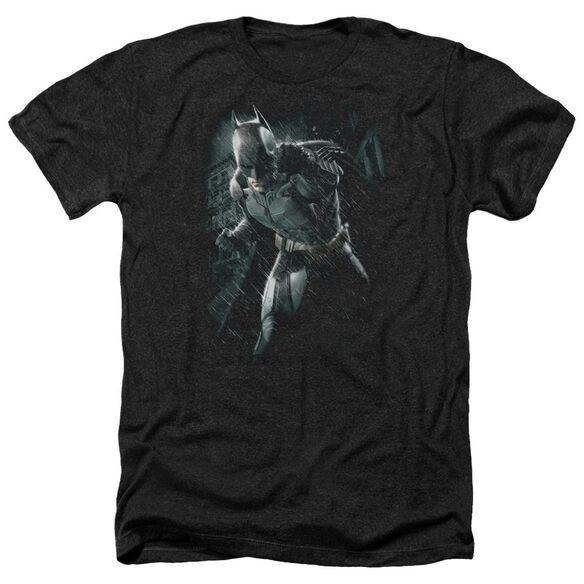 Dark Knight Rises Batman Rain Adult Heather