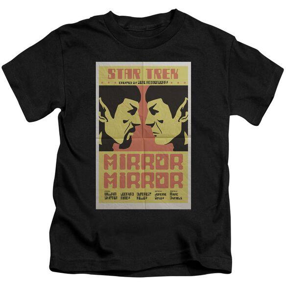 Star Trek Tos Episode 33 Short Sleeve Juvenile Black T-Shirt