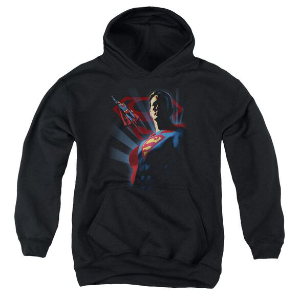 Superman Super Deco Youth Pull Over Hoodie