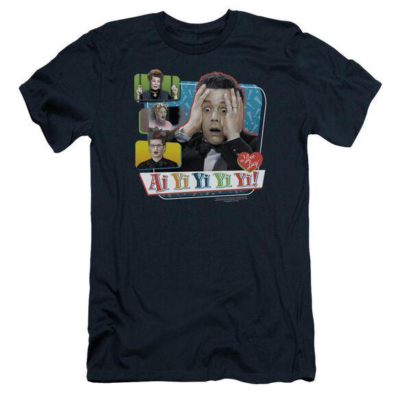 I Love Lucy Ai Yi Yi Yi Yi Short Sleeve Adult T-Shirt
