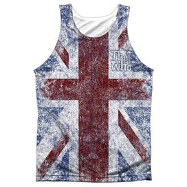 The Who Union Jack Adult Poly Tank Top