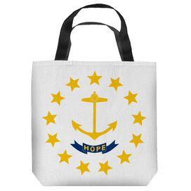 Rhode Island Flag Tote Bag