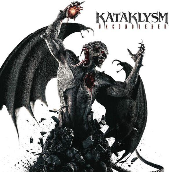 Kataklysm - Unconquered (Red & Black Splatter)